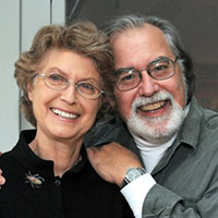 Frank Van Riper and Judith Goodman